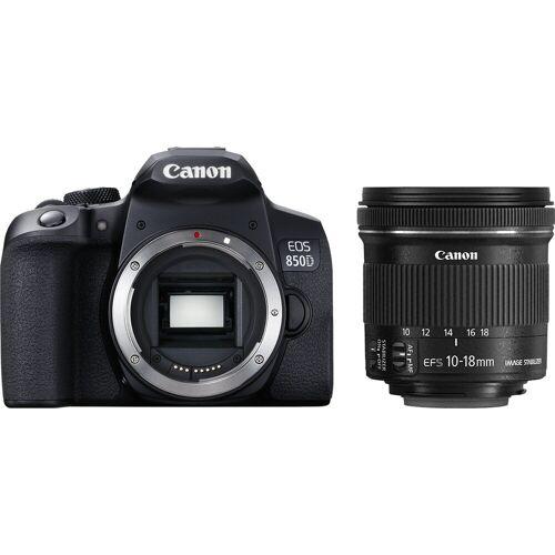 Canon EOS 850D + EF-S 10-18 mm f/4.5-5.6 IS STM Spiegelreflexkamera