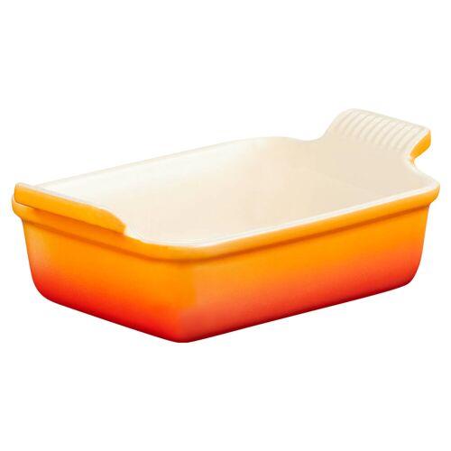Le Creuset Auflaufform 19 cm Orange Auflaufform