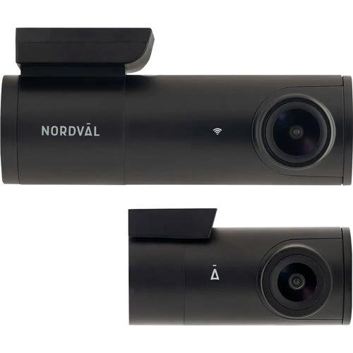 Nordväl DC102 Dashcam 2CH 2K + WLAN 64 GB Dashcam