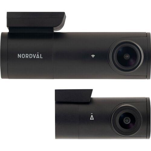 Nordväl DC102 Dashcam 2CH 2K + WLAN 128 GB Dashcam