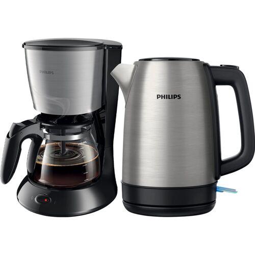 Philips HD7462/20 Daily + Wasserkocher Filterkaffeemaschine