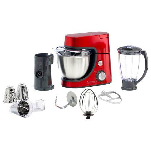 Moulinex Masterchef Gourmet QA512G10 Rot Küchenmaschine