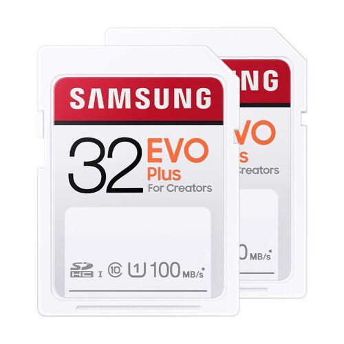 Samsung SD Card EVO Plus 32 GB Duo Pack Speicherkarte