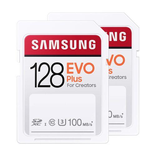 Samsung SD Card EVO Plus 128 GB Duo Pack Speicherkarte