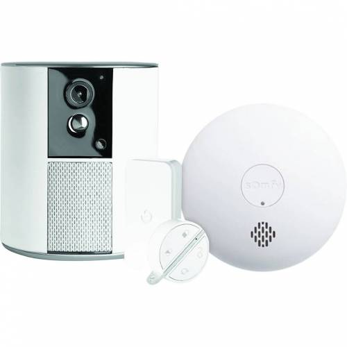 Somfy One + + Somfy Protect Rauchmelder Alarmanlage