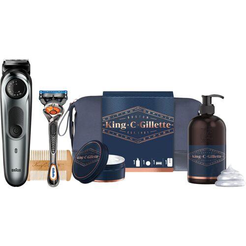 Braun BT7220 + King C. Gillette Geschenkset Barttrimmer