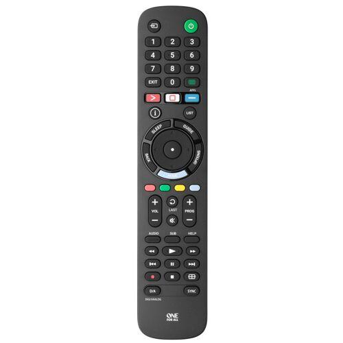One for All URC4912 Sony Fernbedienung Fernseher-Fernbedienung