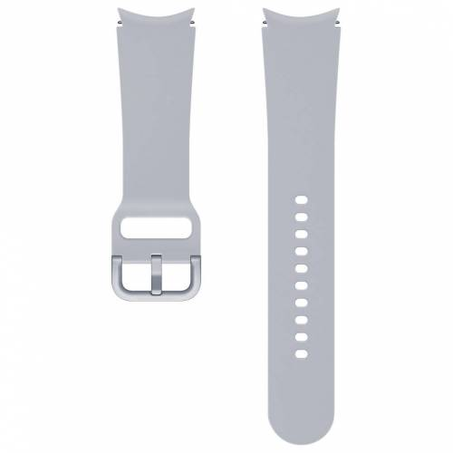Samsung Silikonarmband Grau M/L 20mm Uhrenarmband