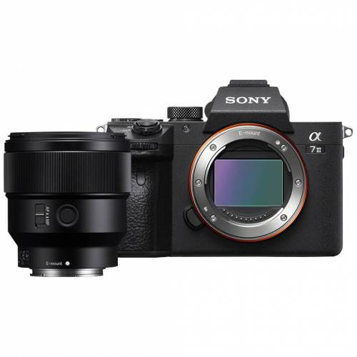 Sony A7 III + 85 mm f/1.8 Systemkamera