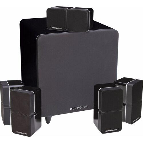 Cambridge Audio Minx Min 22 5.1-Set Schwarz HiFi-Lautsprecher