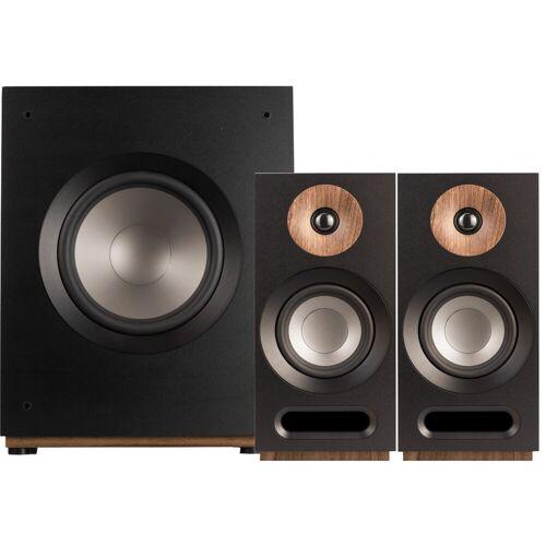 Jamo S 803 2.1-Lautsprecher-Set Schwarz HiFi-Lautsprecher
