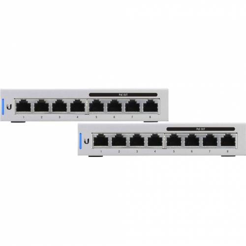 Ubiquiti UniFi Switch 8-60W + Ubiquiti UniFi Switch 8-60W Switch