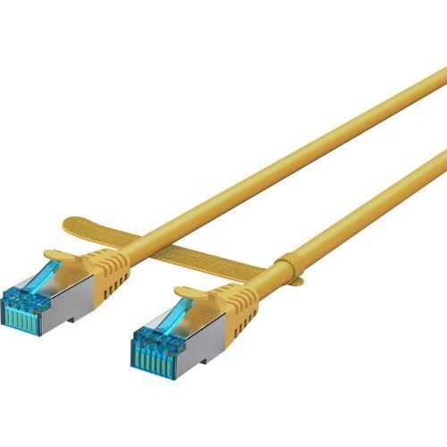 BlueBuilt Netzwerkkabel STP CAT6 5 Meter Gelb UTP-Kabel