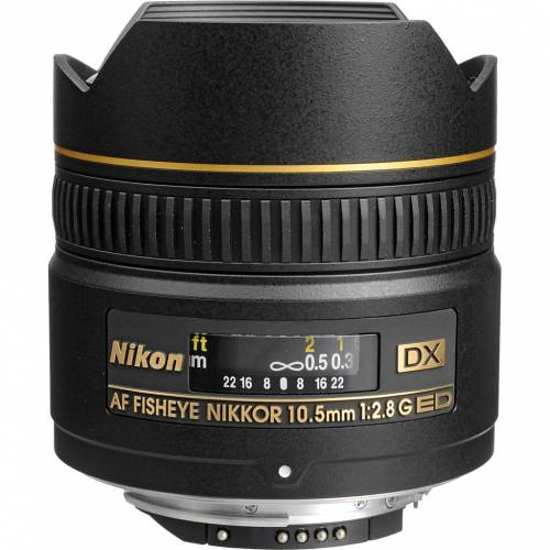 Nikon AF-D 10,5 mm f/2,8G ED DX Fisheye Kameraobjektiv