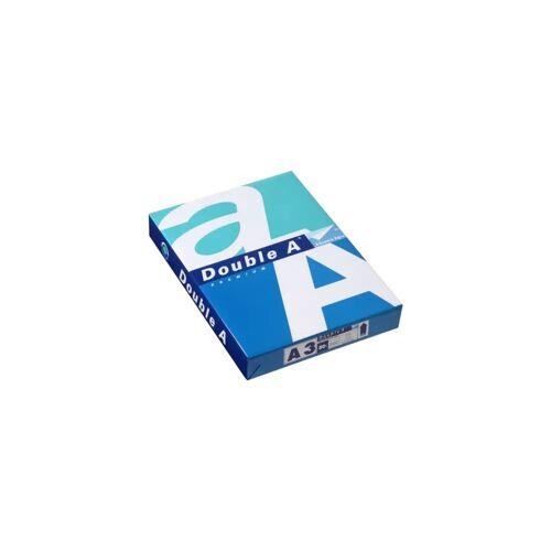 Double A Paper Double A Papier A3 Papier Weiß 80g / m2 500 Blatt (5x) Papier-
