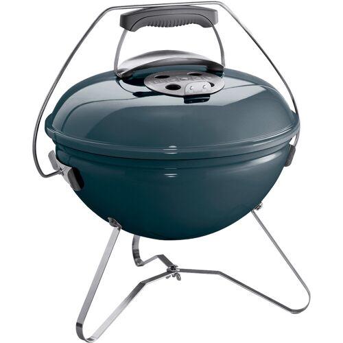 Weber Smokey Joe Premium Blau Grill