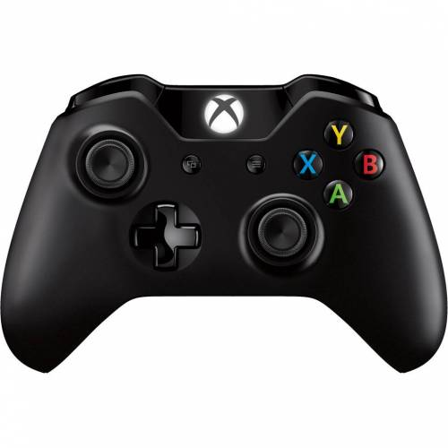 Microsoft Xbox One kabelloser Controller in Schwarz Controller