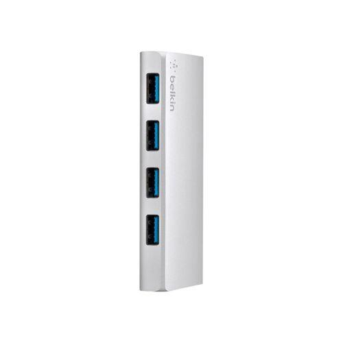 Belkin 4 Ports USB 3.0 Hub mit USB-C-Kabel USB-Hub