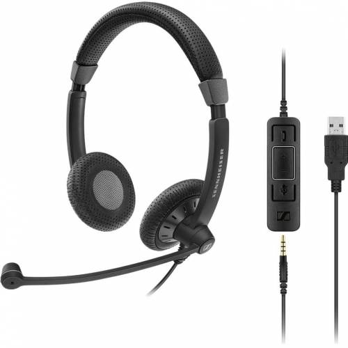 Sennheiser SC 75 USB MS Office-Headset
