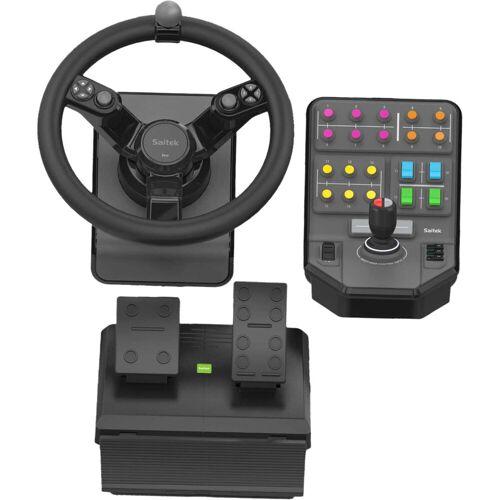 Logitech Saitek Farm Sim Controller Rennlenkrad