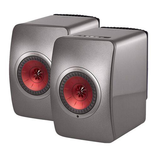 KEF LS50 Wireless Grau (pro Paar) WLAN-Lautsprecher