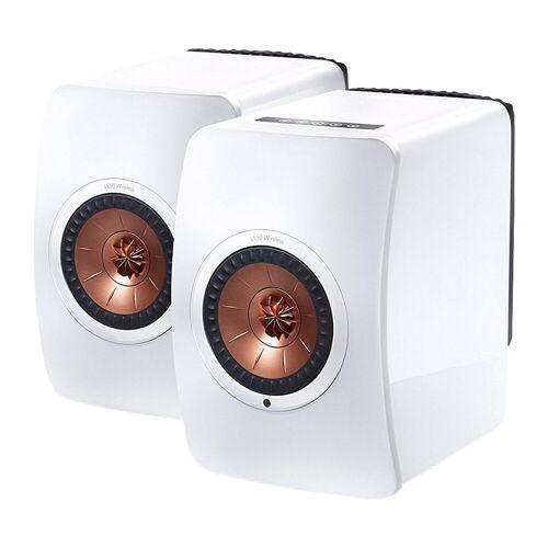 KEF LS50 Wireless Weiß  (pro Paar) WLAN-Lautsprecher
