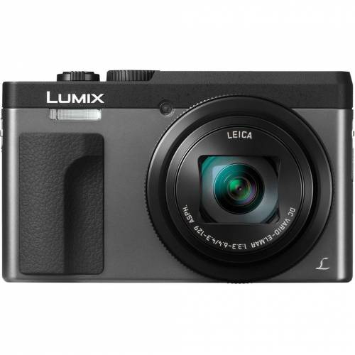 Panasonic Lumix DC-TZ90 Silber Kompaktkamera