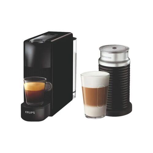 Krups Nespresso Essenza Mini XN1118 Schwarz + Milchaufschäumer