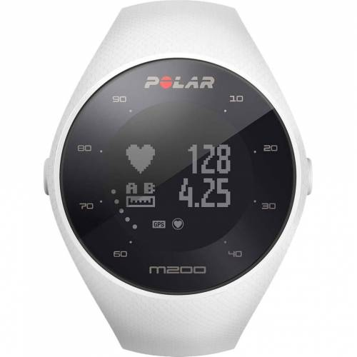 Polar M200 Weiß M/L Smartwatch