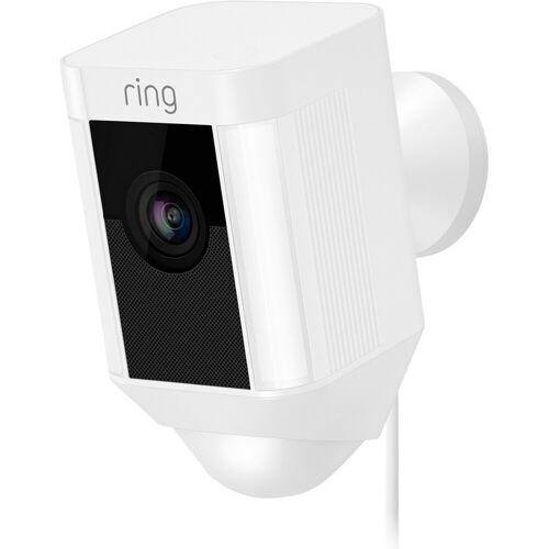 Ring Spotlight Cam Wired Weiß IP-Kamera