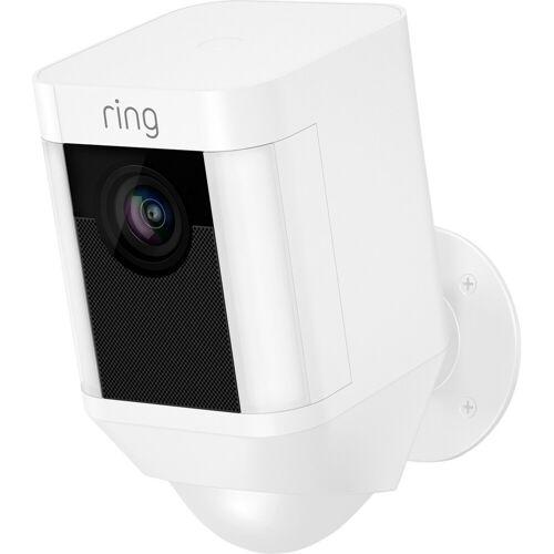 Ring Spotlight Cam Battery Weiß IP-Kamera