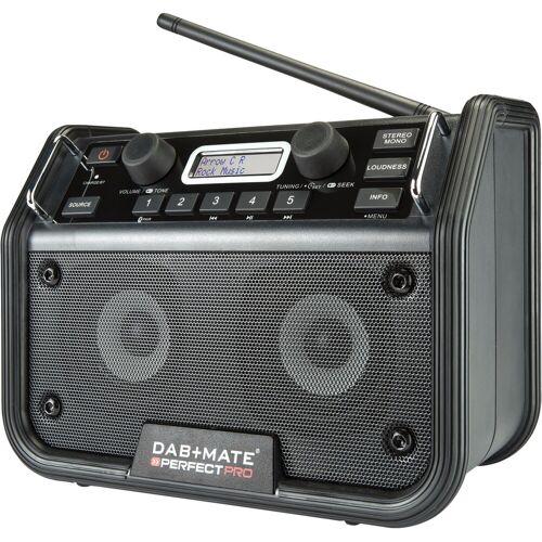 Perfectpro DAB+ Mate (ohne Batterien) Bauradio