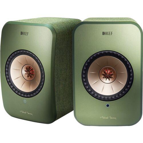 KEF LSX Wireless Stereo System Grün WLAN-Lautsprecher