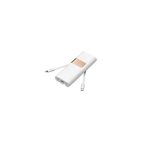 iWalk Secretary + Powerbank 20.000 mAh Quick Charge 3.0 Weiß Powerbank