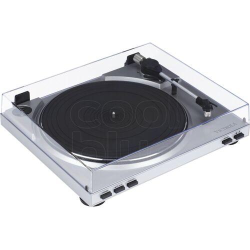 Victrola VPRO-3100 Silber Plattenspieler