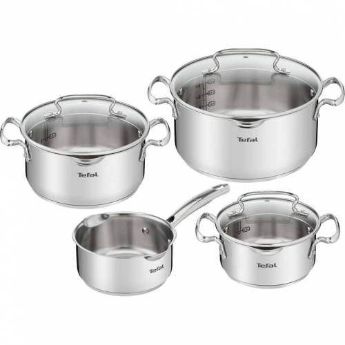 Tefal Duetto + 4-teiliges Topfset Topf