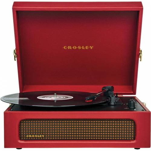 Crosley Voyager Rot Plattenspieler