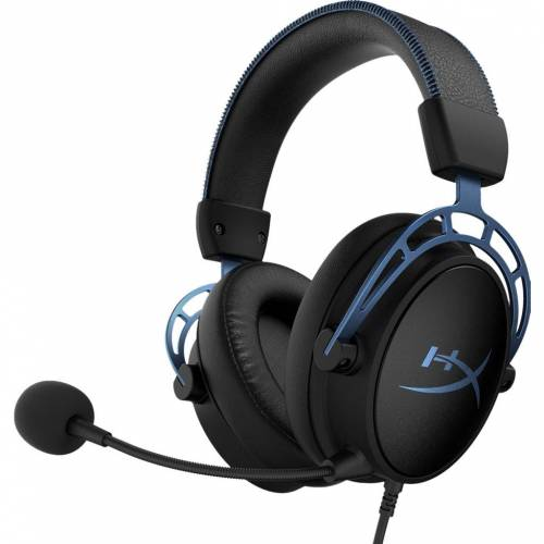 HyperX Gaming-Headset HyperX Cloud Alpha S Pro Schwarz/Blau Gaming-Headset