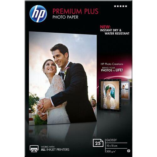 HP Premium Glossy Fotopapier 25 Bögen (10 x 15) Papier-