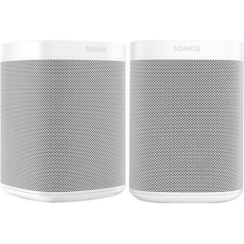 Sonos One Duo Pack Weiß WLAN-Lautsprecher
