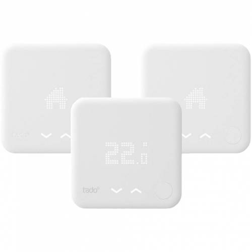 Tado Intelligenter Tado-Thermostat V3+ + Multi-Zone Duo Pack Thermostat