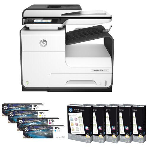 HP Starterpaket HP PageWide Pro 477dw Drucker