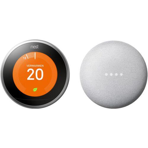 Google Nest Nest Learning Thermostat V3 + Google Nest Mini Weiß Thermostat