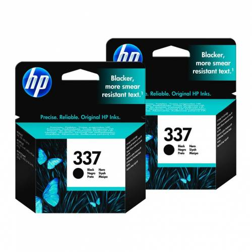 HP 337 Patronen Schwarz Duo Pack Patrone