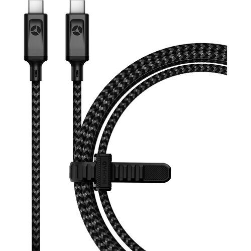 Nomad Goods Nomad USB-C nach USB-C-Kabel Nylon 1,5 m (60 Watt) Datenkabel