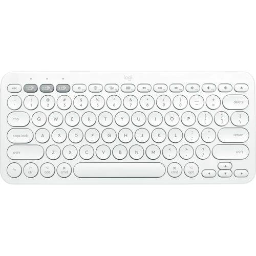 Logitech K380 kabellose Tastatur QWERTZ Weiß Tastatur