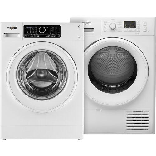 Whirlpool FSCR 70410 + Whirlpool FTBE M10 72 Waschmaschine