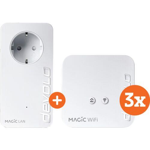 Devolo Magic 1 WiFi Mini Multiroom Kit + Erweiterung (NL)