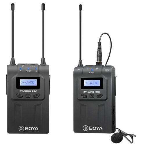 Boya BY-WM8 Pro K2 UHF Kabelloses Mikrofon Kit 2TX+1RX Kameramikrofon