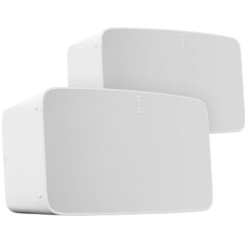 Sonos Five Duo Pack Weiß WLAN-Lautsprecher